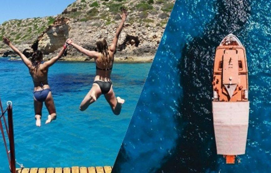 Excursión en Barco en Palma – Sur de la Isla de Mallorca. A las 12 de la mañana.